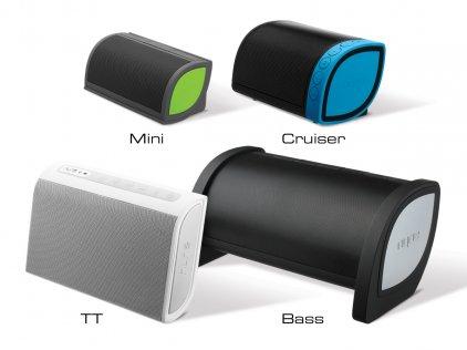 Портативная акустика Nyne TT white/grey