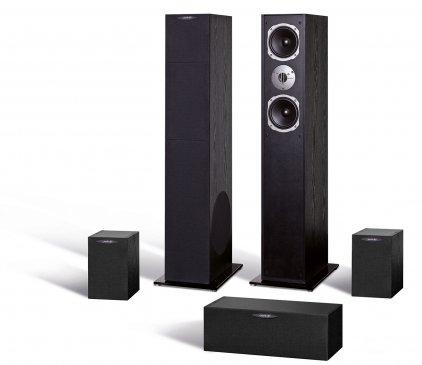 Комплект акустики Quadral Ferrum 7000 set black high gloss