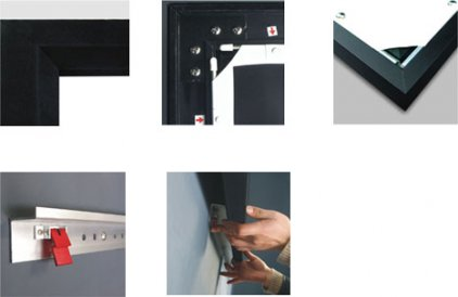 Classic Solution Premier Draco (16:9) 404х226 (F 404х226/9 PW-PD/S) Matte White