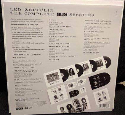 Виниловая пластинка Led Zeppelin THE COMPLETE BBC SESSIONS (5LP+3CD/180 Gram/Box set)