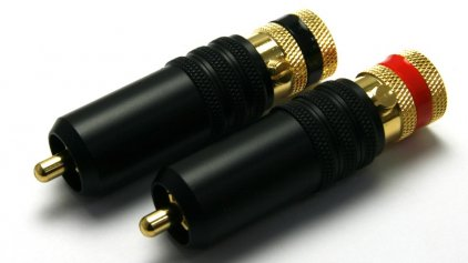 AudioToys RC-1005G RCA black