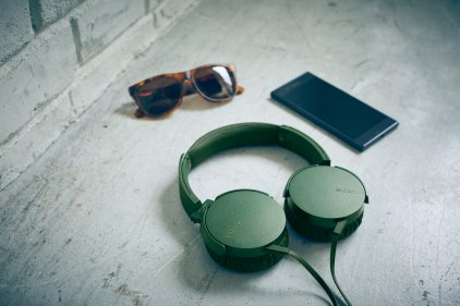 Sony MDR-XB550AP blue