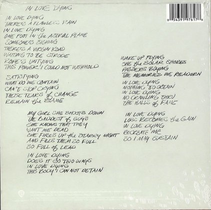 Red Hot Chili Peppers IN LOVE DYING (2 tracks)
