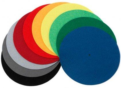 Мат для диска проигрывателя Pro-Ject FELT MAT 280mm blue