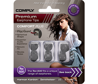 Амбушюры Comply Tsx-500 Black Small (3 пары)