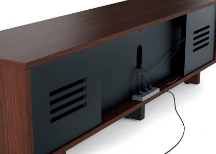 Тумба для телевизора BDI Vertica 8559 Chocolate Stained Walnut