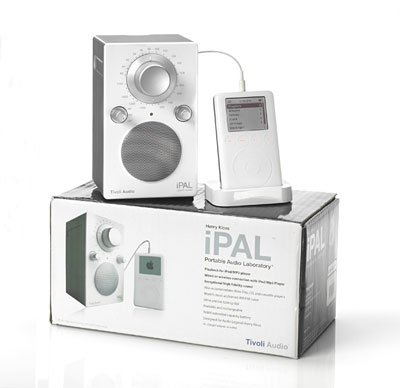 Радиоприемник Tivoli Audio Portable Audio Laboratory IPAL High Gloss Blue (PALIPALGB)