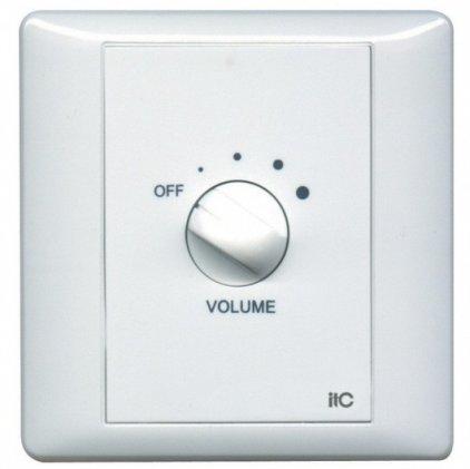 ITC T-6F Регулятор громкости 6 Вт/100 В, реле принудительного включения