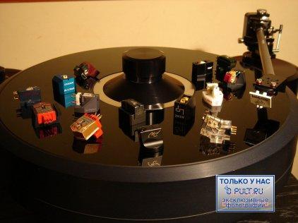 Головка звукоснимателя Benz-Micro Ebony TR (imp. 1Ohm 9.6g) 0.1mV