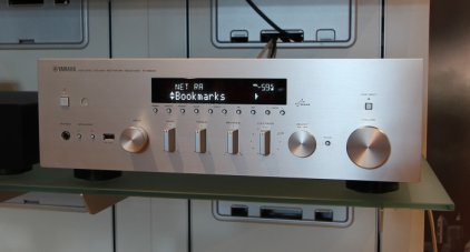 Yamaha R-N500 silver