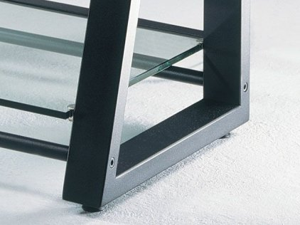 Schroers DELTAstatic silver grey/clear glass