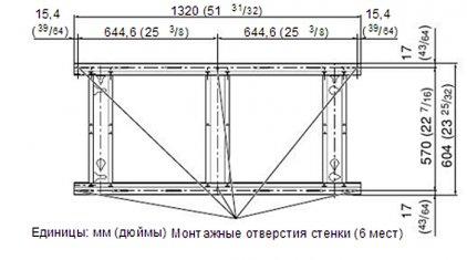 Panasonic TY-WK65PV7 (настенное крепление для плазм Panasoni