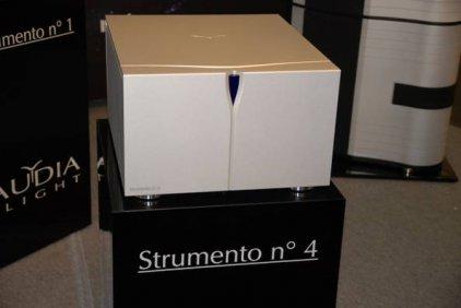Усилитель звука Audia Flight STRUMENTO N°4 silver