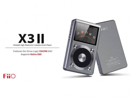 Плеер FiiO X3 II gold limited edition