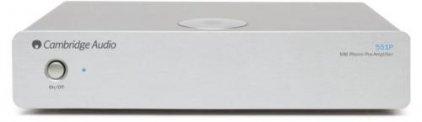 Cambridge Azur 551P silver