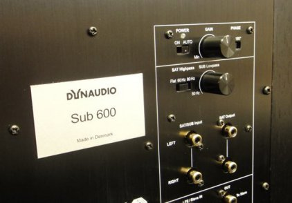 Dynaudio Sub 600 gloss black lacquer