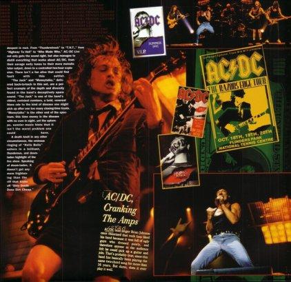 Виниловая пластинка AC/DC LIVE (Remastered/180 Gram/Special Collector's Edition)