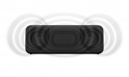 Портативная акустика Sony SRS-XB3 красный