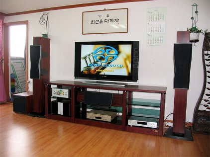 Dynaudio Confidence Center Platinum bordeaux laquer