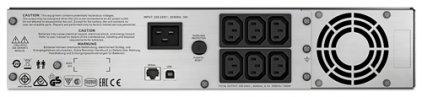 APC Smart-UPS C SMC2000I-2U 2000VA black