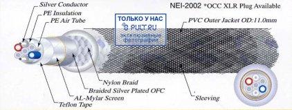 Кабель межблочный аудио Neotech NEI-2002 0.5m