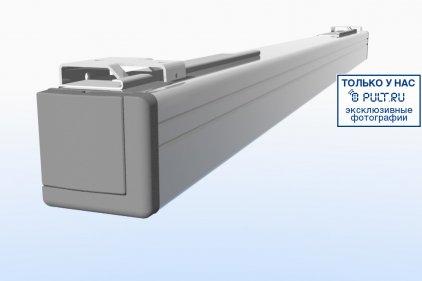 """Экран Projecta Elpro Electrol 173x300 cm (131"""") High Contrast с эл/приводом, доп. черная кайма 30 см 16:9 (10191910)"""