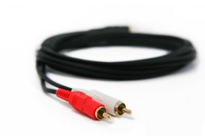 PROCAST Cable S-MJ/2RCA.5 5.0m
