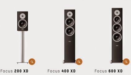 Dynaudio Focus XD 400 walnut