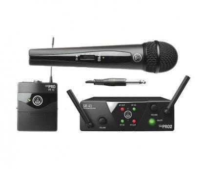 Радиосистема AKG WMS40 Mini2 Mix Set BD ISM2/3 (864.375&864.850)