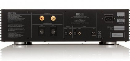 Musical Fidelity M6CD/DAC black