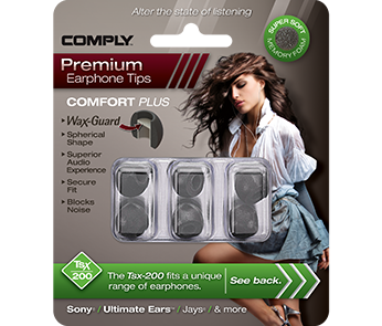 Comply Tsx-200 Black Small (3 пары)