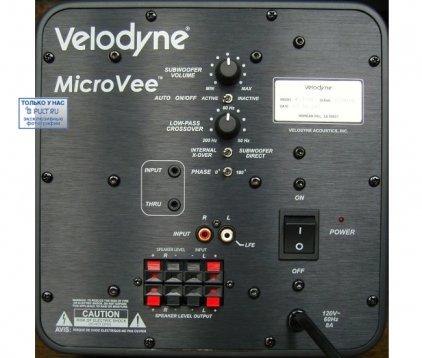 Сабвуфер Velodyne Micro Vee white