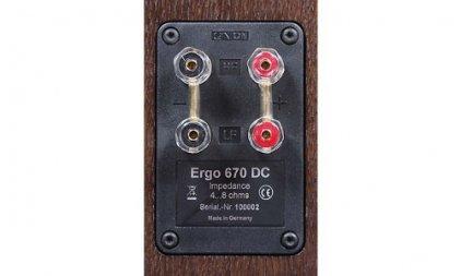Canton Ergo 670 DC wenge (пара)