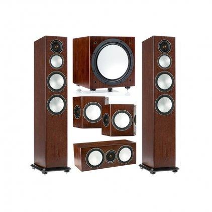 Напольная акустика Monitor Audio Silver 8 walnut