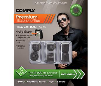 Comply Tx-200 Black Medium (3 пары)