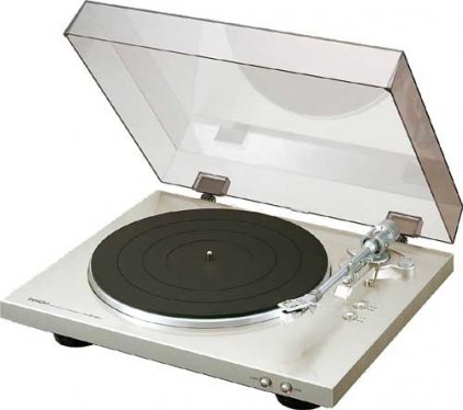 Denon DP-300F premium silver