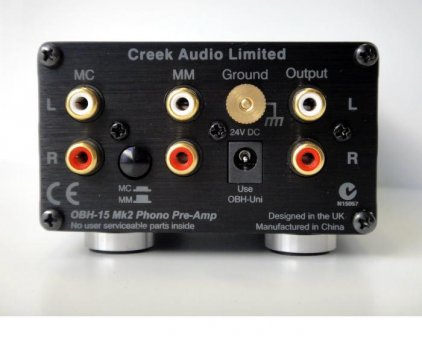 Creek OBH-15 mk2 black