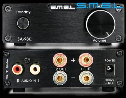Стереоусилитель SMSL SA-98E silver