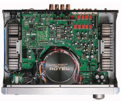 Rotel RA-1570 silver