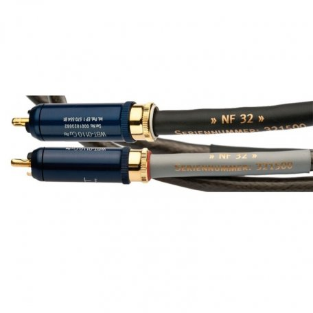 Silent Wire NF32 mk2, RCA, with ground-wire (phonostereocable) (2х1.0m)