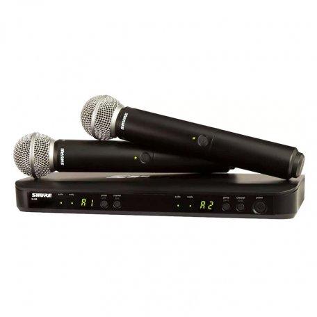 Shure BLX288E/SM58 M17 662-686 MHz