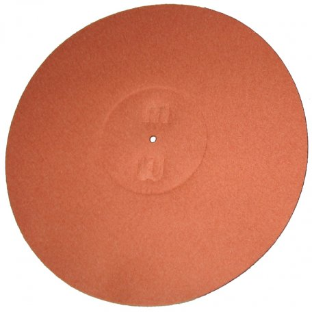 MILLENNIUM AUDIO M-LP felt mat orange