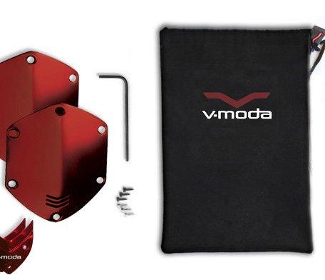 V-moda Сменные накладки для наушников V-Moda XS / M-80 On-Ear Metal Shield Kit Red