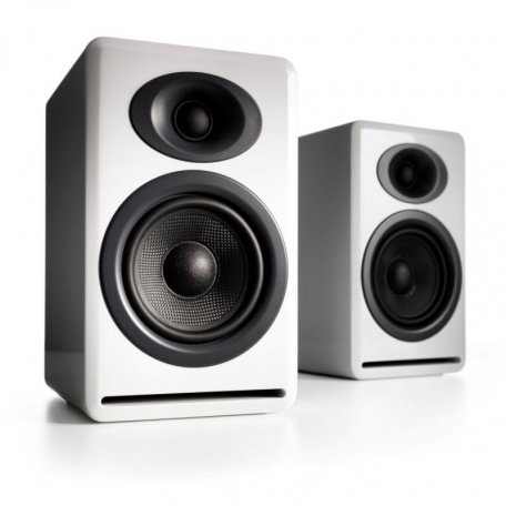 Audioengine P4 Hi-Gloss White