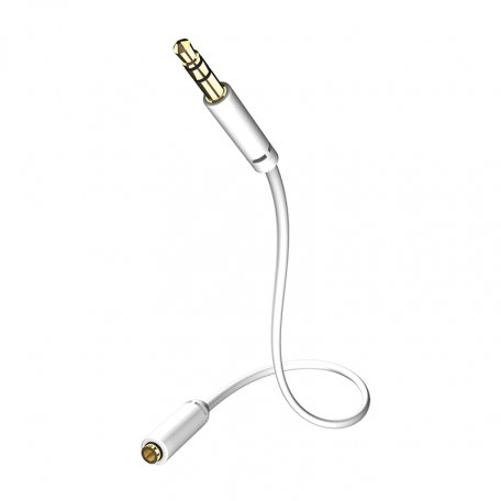In-Akustik Star MP3 Audio Cable (3.5mm, M-F) 3.0m 00310503