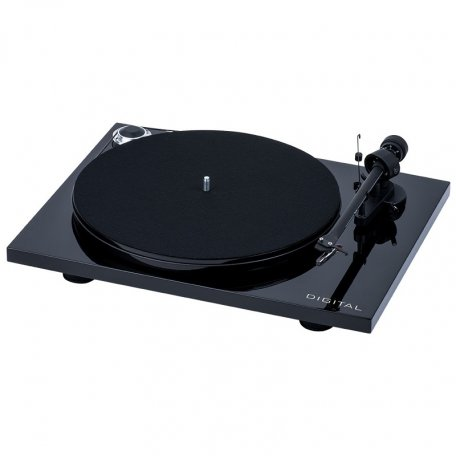Pro-Ject ESSENTIAL III DIGITAL (OM 10) piano black