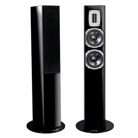 Quadral Chromium Style 52 black high gloss