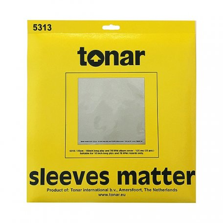 Tonar LP – 10 INCH OUTER SLEEVES (25 PCS./PACK) 125 MU H