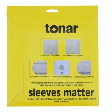 Tonar LP INNER SLEEVE внутренний конверт 12'  (50 шт)
