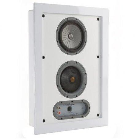 Monitor Audio SoundFrame 1 On Wall white